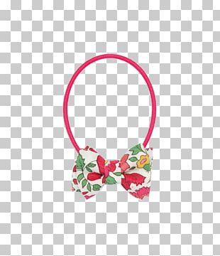 Hair Tie Body Jewellery Pink M PNG
