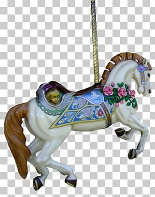 Horse Carousel Cry Baby Amusement Park PNG
