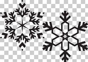Snowflake Drawing Christmas PNG