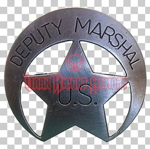 US Deputy Marshal United States Marshals Service Badge Sheriff American Frontier PNG