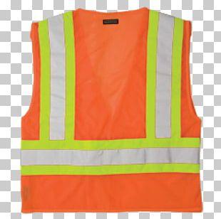 Gilets T-shirt Sleeveless Shirt High-visibility Clothing PNG