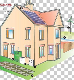 House Renewable Energy Solar Power Solar Panels PNG