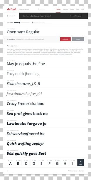 Charter Font Dafont