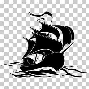 Sailing Ship Wall Decal Boat Logo Piracy PNG
