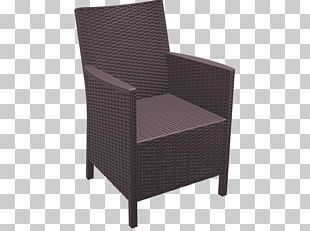 Table Chair Garden Furniture Rattan PNG
