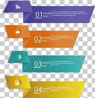 Painted Banners Colored Origami Tag PNG