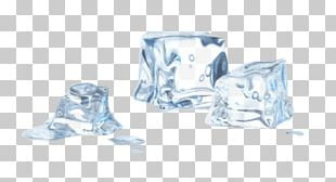 Ice Cube Melting Cold PNG