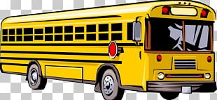 School Bus Field Trip PNG