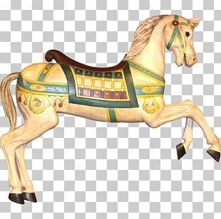 American Paint Horse Mustang Stallion Carousel Kholstomer PNG