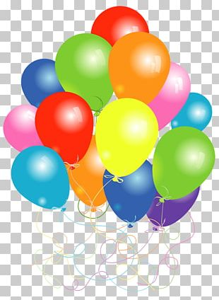 Toy Balloon Birthday PNG
