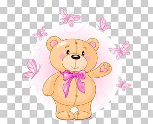 Teddy Bear Cartoon Cuteness PNG