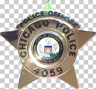 Badge Chicago Police Department Police Officer PNG