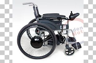 Motorized Wheelchair Brushless DC Electric Motor PNG