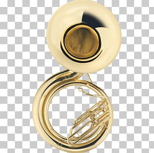 Sousaphone Brass Instruments Tuba Trumpet Musical Instruments PNG