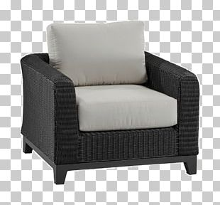 Club Chair Couch Comfort Armrest Cushion PNG