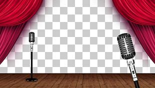 Microphone Stage PNG