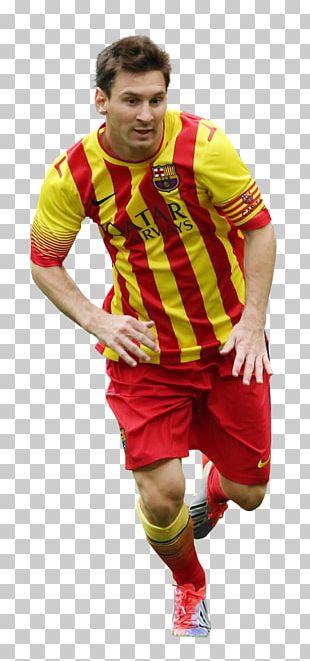 Lionel Messi FC Barcelona Jersey Argentina National Football Team PNG