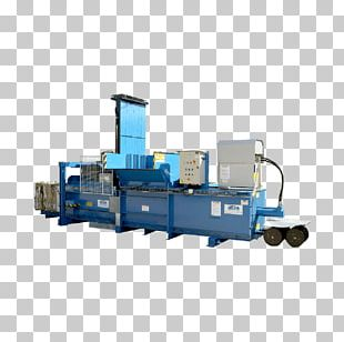 Paper Baler Machine Plastic Recycling PNG