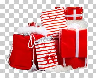 Santa Claus Gift Christmas Valentines Day New Year PNG