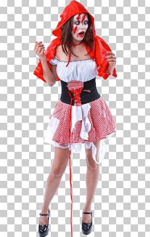 Halloween Costume Little Red Riding Hood Big Bad Wolf Costume Party PNG