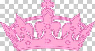 Crown Tiara Princess Pink PNG