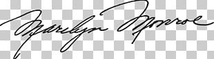 Marilyn Monroe Signature PNG