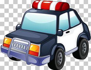 Police Officer Police Car PNG