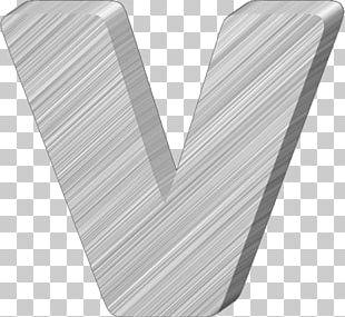 Letter Case V Alphabet PNG