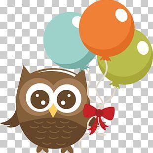 Barn Owl Birthday PNG