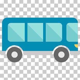 Bus Public Transport Icon PNG