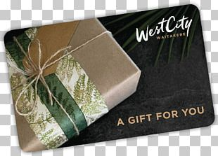 WestCity Waitakere Gift Card Trade Retail PNG