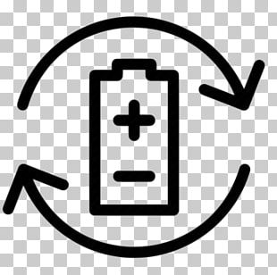 Battery Charger Electric Battery Computer Icons Rechargeable Battery Battery Recycling PNG