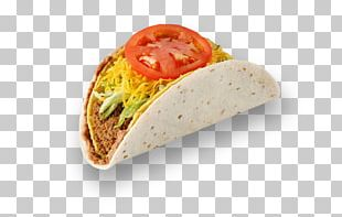 Taco Wrap Vegetarian Cuisine Fast Food Wheat Tortilla PNG