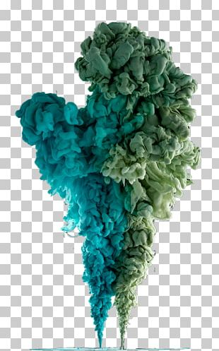 Colored Smoke Green PNG