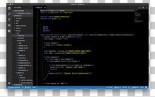 Theme Computer Program 8bit. Visual Studio Code PNG