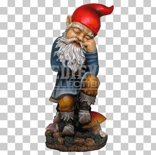 Garden Gnome Statue Lawn PNG