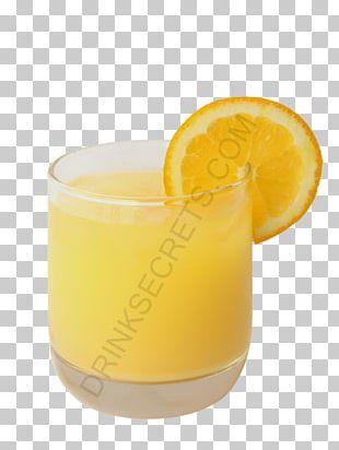 Orange Juice Orange Drink Fuzzy Navel Cocktail Harvey Wallbanger PNG