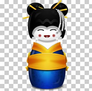 South Korea Japan Geisha ICO Icon PNG