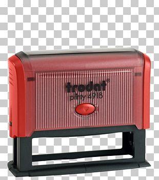 Trodat Printy 4918 Self Inking Rubber Stamp Trodat Printy 4918 Self Inking Rubber Stamp Sello Trodat Printy 4918 Trodat Mobile Printy 9411 Red PNG
