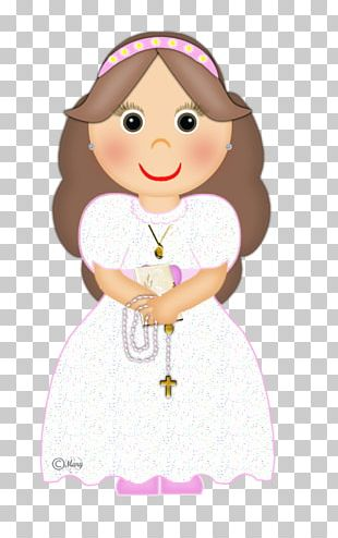 Doll First Communion Eucharist Child PNG