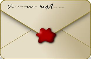 Envelope Sealing Wax PNG