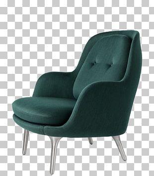 Eames Lounge Chair Fritz Hansen Wing Chair Cushion PNG