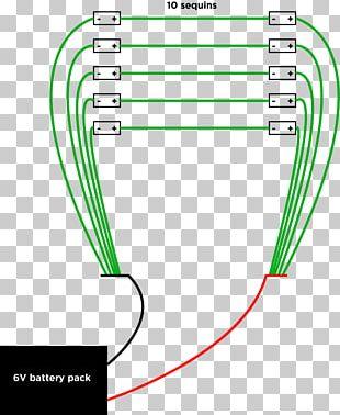 Electronic Circuit LED Circuit Electrical Network Circuit Diagram Light-emitting Diode PNG