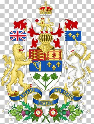 Arms Of Canada Coat Of Arms Flag Of Canada A Mari Usque Ad Mare PNG