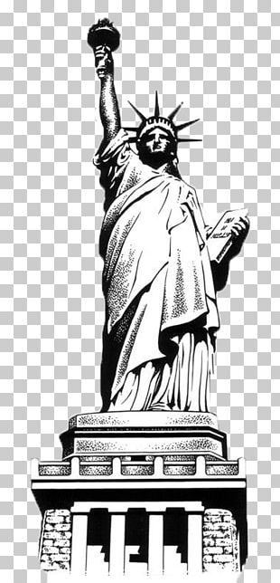 Statue Of Liberty Eiffel Tower Lion Of Belfort Drawing PNG