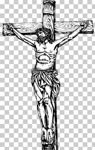 Cross Jesus Illustration PNG