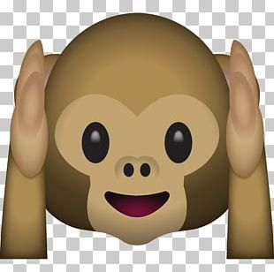 Emoji Three Wise Monkeys Sticker IPhone PNG