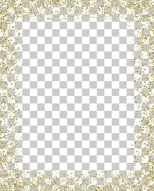 Gold Glitter MIME PNG
