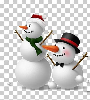 Snowman Christmas Photography PNG