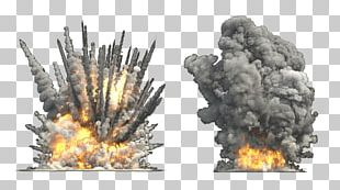 Explosion Flame Smoke Mushroom Cloud PNG